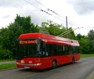 Trolleybus to Majdanek